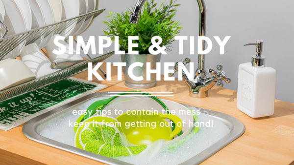 Keeping a Tidy Kitchen