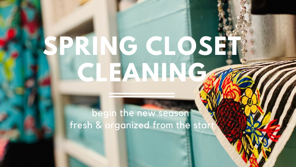 Spring Closet Cleaning Session