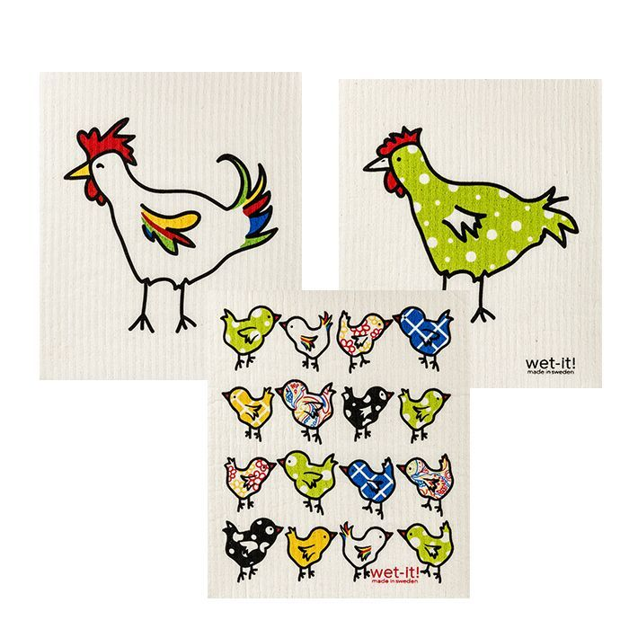 chicken family set