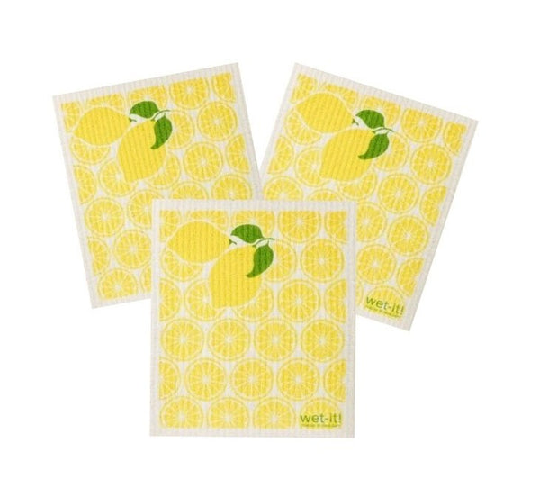 lemon fresh cleaning set