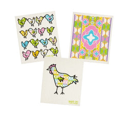 pastel chicken set