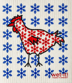 snowy chicken