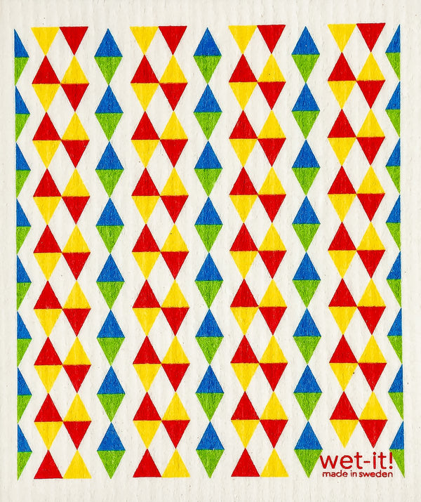triangles primary colors