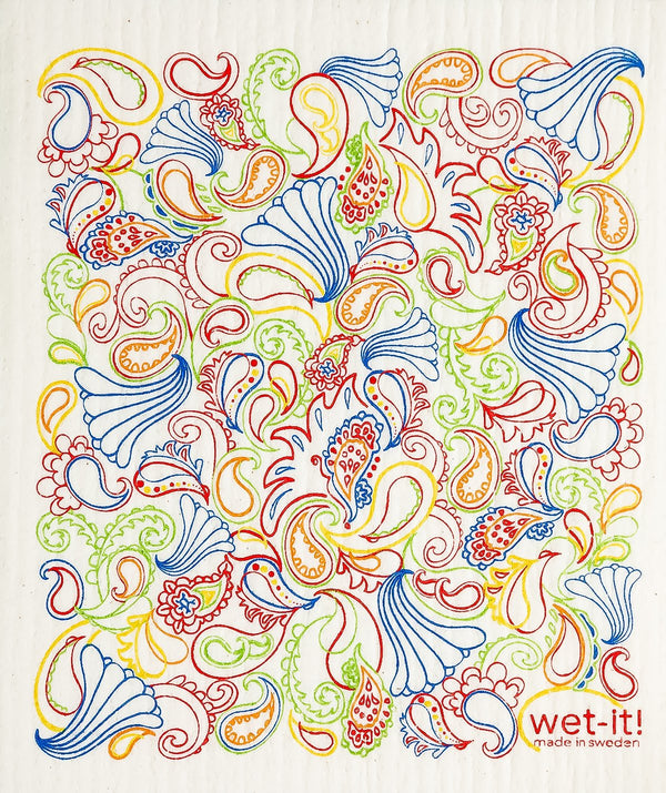 paisley multi color