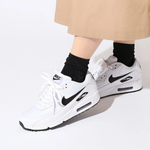 NIKE WMNS AIR MAX 90 WHITE/BLACK