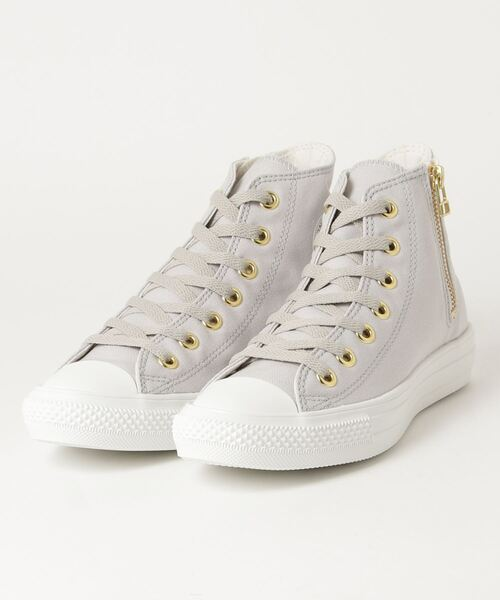 ALL STAR LIGHT GOLDZIP HI GRAY