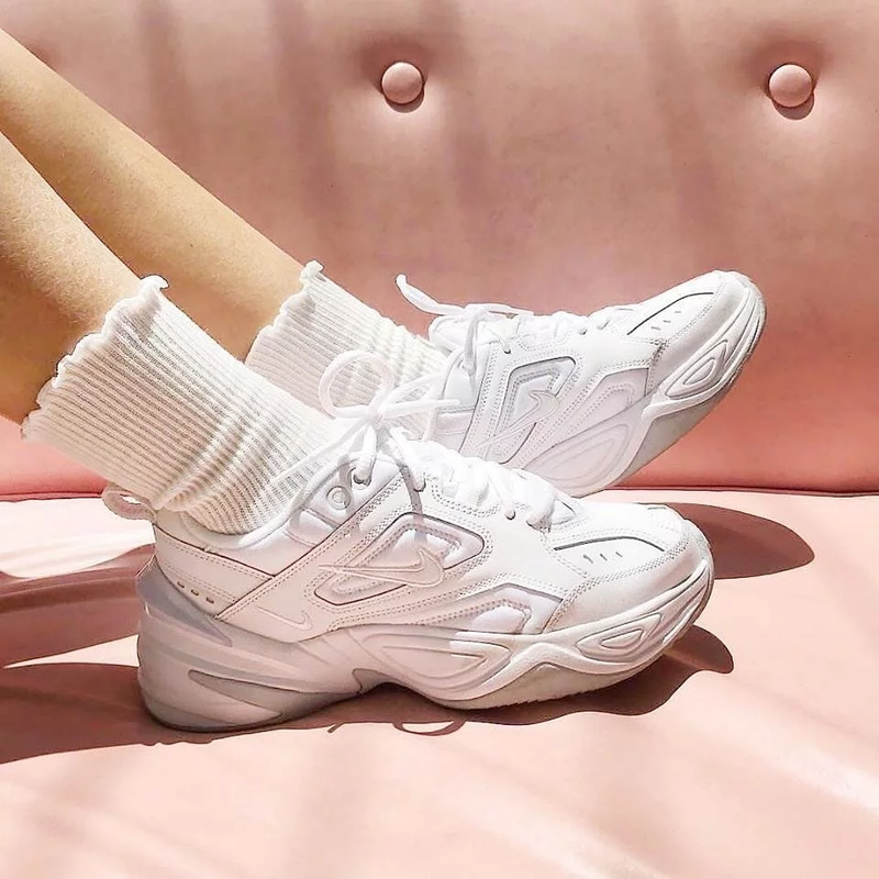 "Nike M2K Tekno "" Dad Shoes "" White"