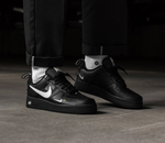 NIKE AIR FORCE 1 UTILITY PACK BLACK