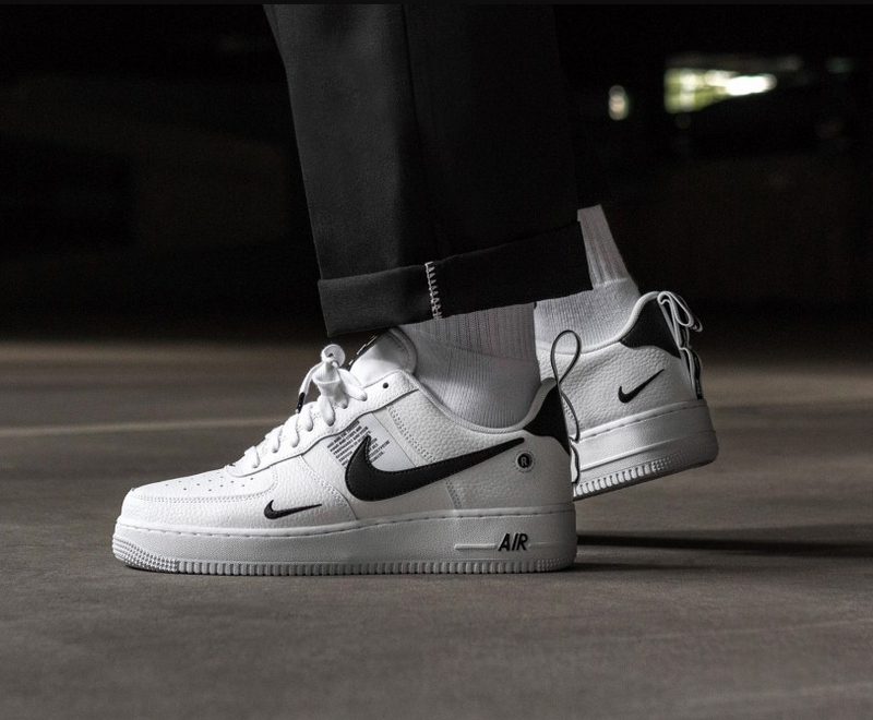 NIKE AIR FORCE 1 UTILITY PACK WHITE