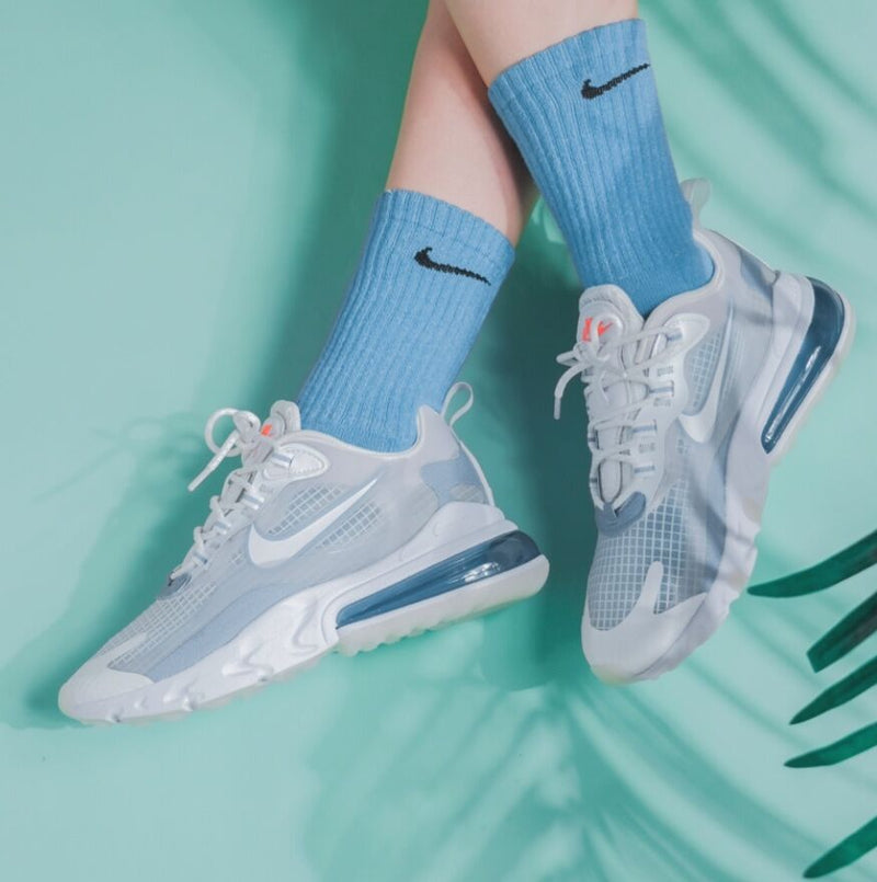 NIKE AIR MAX 270 REACT WHITE PURE PLATINUM