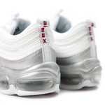 NIKE AIR MAX 97 QS WHITE & SILVER