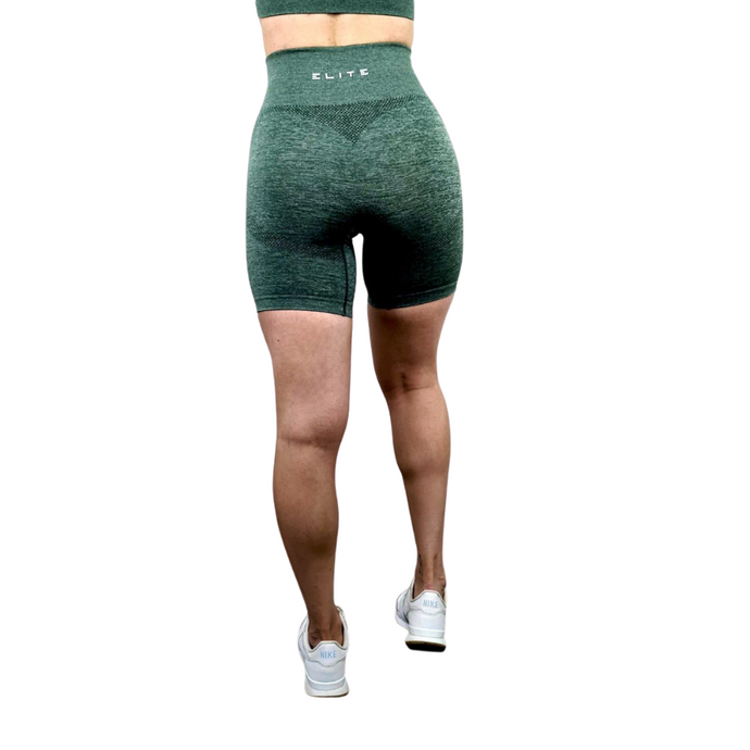 Green Seamless Shorts Seamless Collection Workout