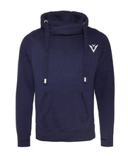 Load image into Gallery viewer, Snood Hoodie Mens Hoodie Womens Hoodie French Navy Hoodie Blue Hoodie Snug Hoodie Warm Hoodie