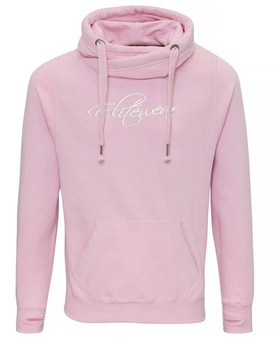 Elite Wear Signature Marshmallow Pink Hoodie