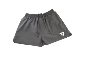 Jet Black Storm Running  Shorts