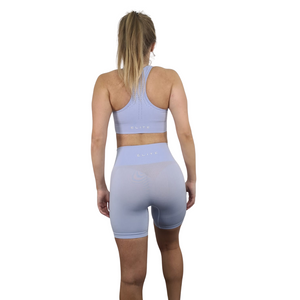 Arctic Blue Seamless Shorts