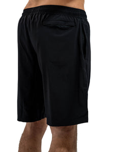 Freedom Jet Black Gym Shorts
