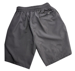Jet Black Storm Gym Shorts