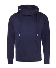 Load image into Gallery viewer, French Navy Hoodie