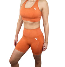 Load image into Gallery viewer, Summer Orange Seamless Bra