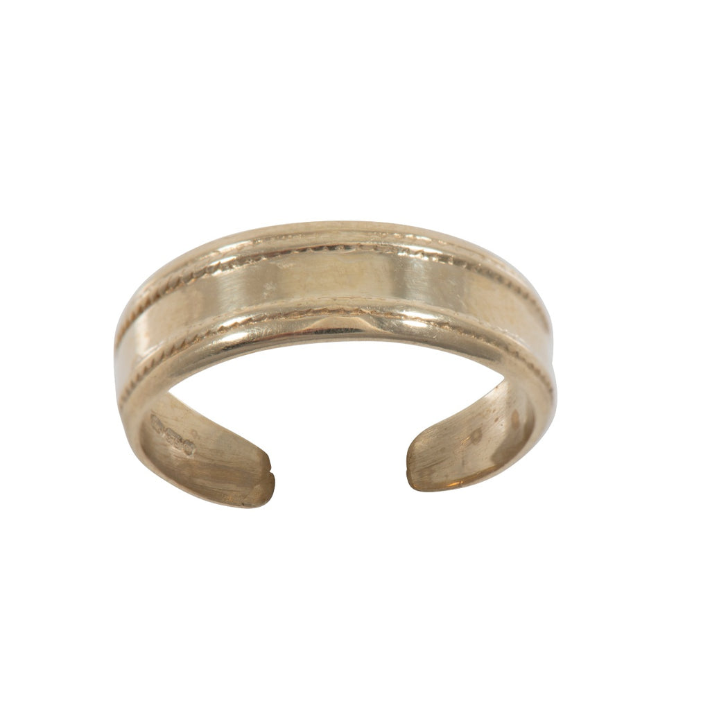 9ct Gold Toe Ring