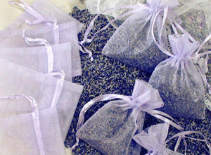 Lavender Sachet Shower Favors