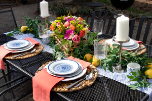 Capri Dreams Tablescape