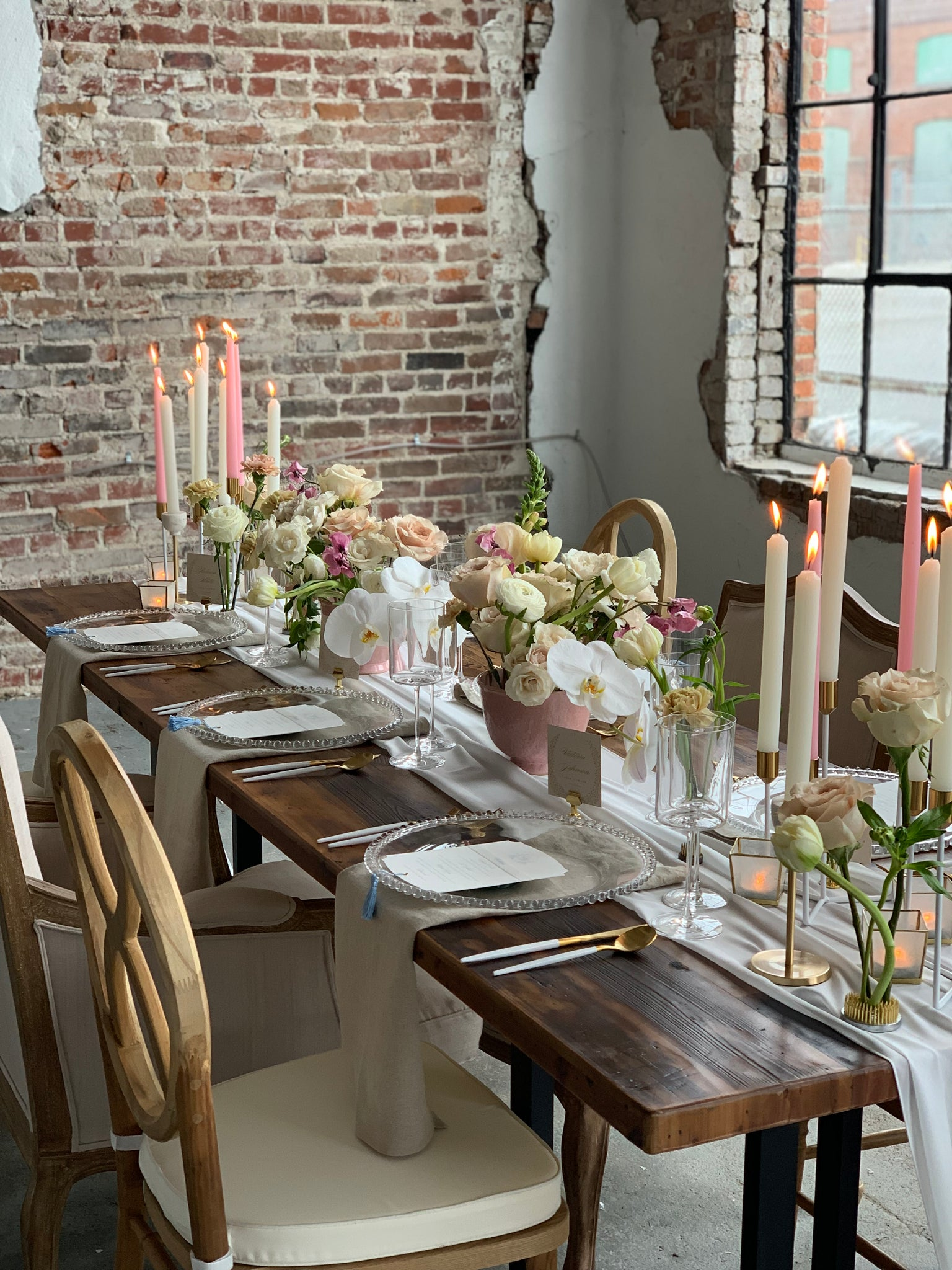 Bridal Bliss Tablescape