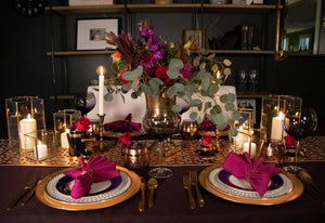 Moroccan Nights Tablescape