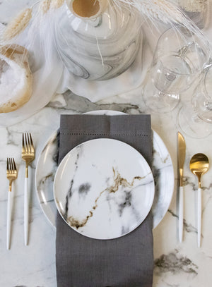 White Out Tablescape