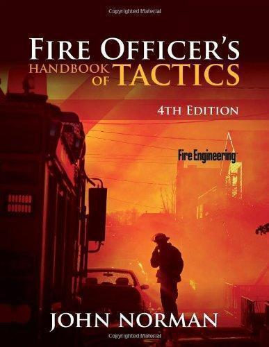 Fire Officer's Handbook of Tactics 4th Edition