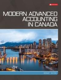 (eBook PDF) Modern Advanced Accounting in Canada, 9th Canadian Edition