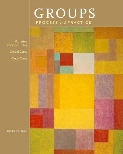 Groups: Process and Practice 9th Edition