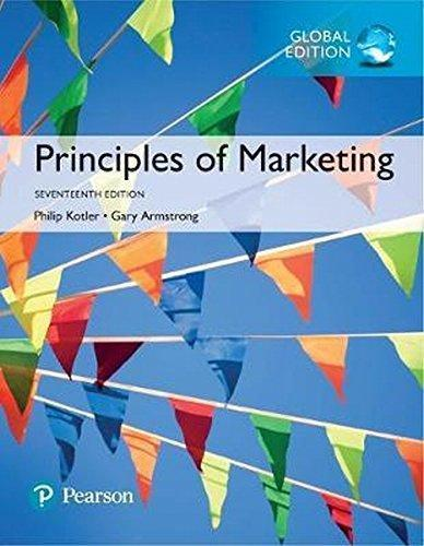 Principles of Marketing 17th Global Edition by Philip Kotler