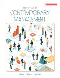 (eBook PDF) Essentials of Contemporary Management, 6th Canadian Edition