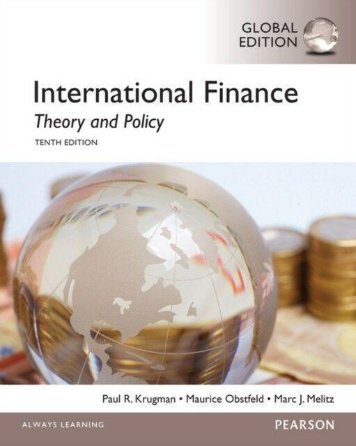 International Finance; Theory and Policy 10th Global Edition