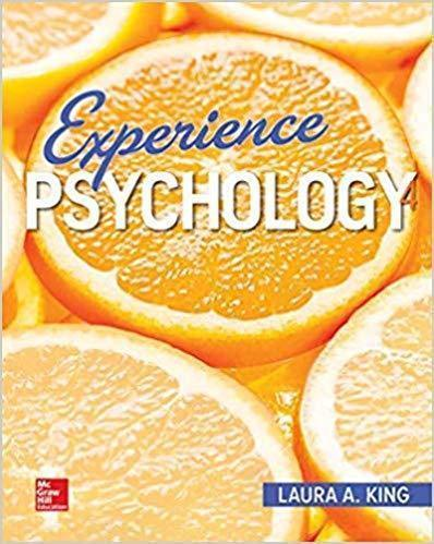 Experience Psychology 4rd Edition