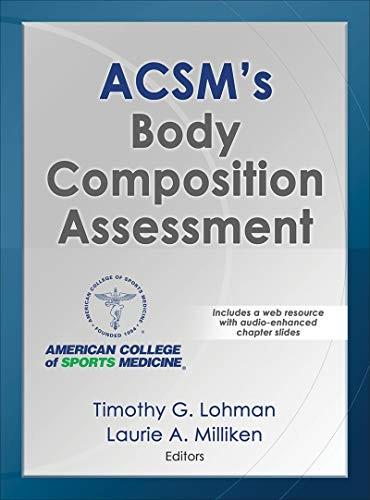 (eBook PDF) ACSM's Body Composition Assessment First Edition