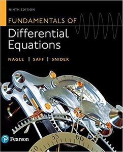 (eBook PDF) Fundamentals of Differential Equations 9th Edition
