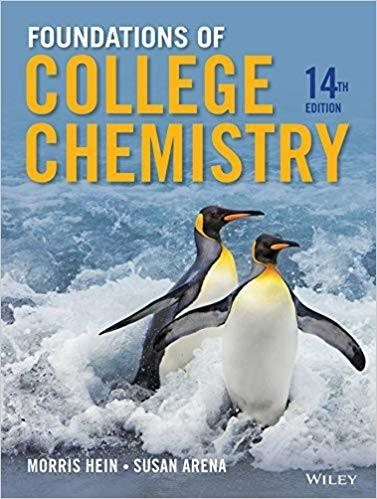 (eBook PDF) Foundations of College Chemistry 14th Edition