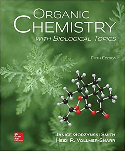 (eBook PDF) Organic Chemistry with Biological Topics 5th Edition