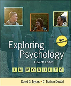 (eBook PDF) Exploring Psychology in Modules 11th Edition
