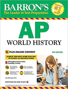 Barron's AP World History with Online Tests Eighth Edition (eBook PDF)