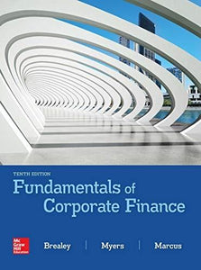 (eBook PDF) Fundamentals of Corporate Finance 10th Edition by Richard Brealey
