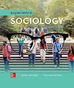 (eBook PDF) Experience Sociology 4th Edition by David Croteau
