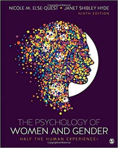 The Psychology of Women and Gender: Half the Human Experience + 9th Edition