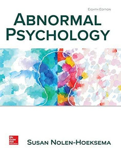 (eBook PDF) Abnormal Psychology 8th Edition by Susan Nolen-Hoeksema