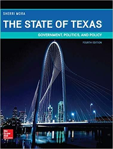 (eBook PDF) The State of Texas: Government, Politics, and Policy 4th Edition