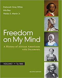 (eBook PDF) Freedom on My Mind, Volume 1 2nd Edition