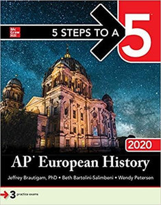 (eBook PDF) 5 Steps to a 5: AP European History 2020